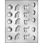 Halloween Assortment Chocolate Mold (90-3122)