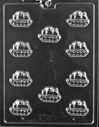 Bite Size Army Tank Chocolate Mold