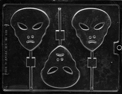 Alien Lolly Chocolate Mold
