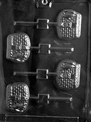 Creel Fishing Basket Lolly Mold