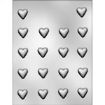 "7/8"" Plain Heart Hard Candy Mold"
