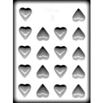 "1-1/4"" Heart Hard Candy Mold"