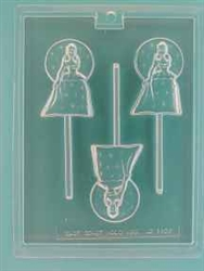 Cinderella Princess Pop Mold