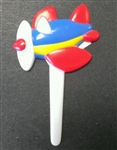 Airplane Cupcake Picks