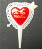 Be My Valentine Cupcake Picks