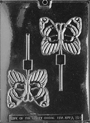 Butterfly Lollipop Chocolate Mold