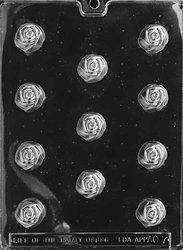 Rose Bonbon Chocolate Mold