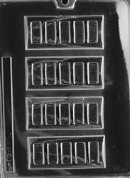 Chocolate Bar Candy Mold