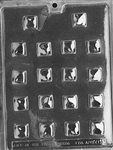 Caramel Centers Chocolate Mold