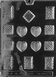 Grooved Assortment Chocolate Mold