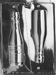 Large 3D Champagne Bottle Mold