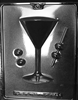 Martini Glass Chocolate Mold - Side 1 of 2
