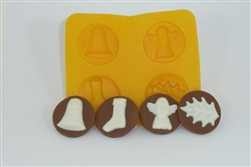 Christmas Assortment Flexible Chocolate Mold