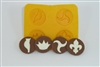 Party Assortment Flexible Chocolate Mold