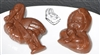 "2-1/2"" Baby Assortment Flexible Chocolate Mold"