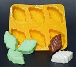 Thick Mint Leaf Flexible Chocolate Mold