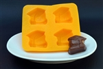 Graduation Globe Flexible Chocolate Mold