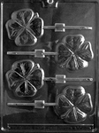 Shamrock Lolly Chocolate Mold