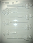 "1-3/4"" Ducky Sucker Hard Candy Mold"