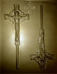 Crucifix Sucker Mold