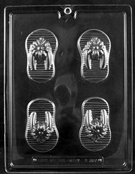 Flip Flops Chocolate Mold