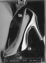 3D High Heel Shoe Chocolate Mold - Side B