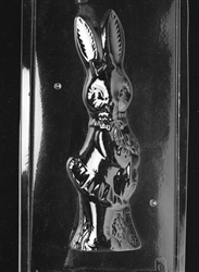 3D Jumbo Girl Bunny Chocolate Mold - Front