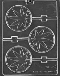 Marijuana Pot Lolly Mold