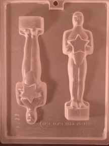 Oscar Style Statue Award Chocolate  C B Larger Photo Email A Friend