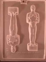 Oscar Style Statue Award Chocolate