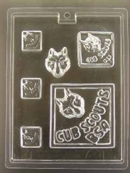 Cub Scout Pieces Mold