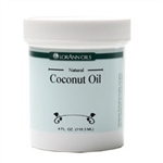 Natural Coconut Oil - 4 Ounces