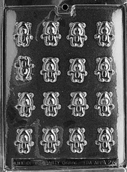 Bite Size Teddy Chocolate Mold