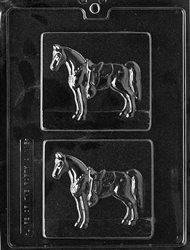 Horse Plaque Chocolate Mold - LPA116