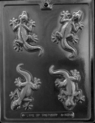 Lizard Chocolate Mold