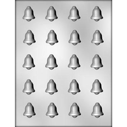 "1-1/8"" Bell Chocolate Mold candy christmas winter holiday treat"