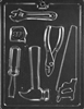 Tools Assortment Chocolate Mold job construction plumber repairman D102