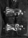 "4"" 3D Bride and Groom Chocolate Mold"