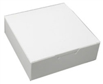 One Pound White Square Candy Boxes