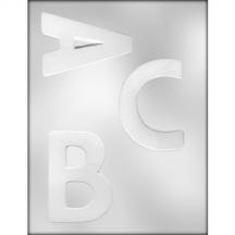 Letters A-B-C Chocolate Mold (90-14250)