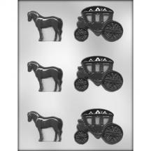 Horse & Carriage Mold
