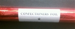 Red Confectioners Foil - 50 Foot Roll
