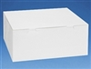 14x14x6 White Cake Box - 10 Pack