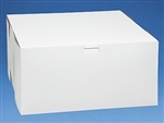 12x12x6 White Cake Box - 10 pack