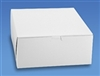 10x10x4 White Cake Box - 10 pack