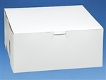 9x9x4 White Cake Box - 10 Pack