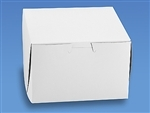 6x6x4 White Cake Box - 10 Pack