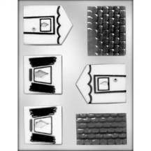 3D House Chocolate Candy Mold