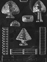 Accessories for Village Chocolate Mold