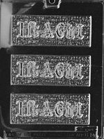 It's a Girl Bar Chocolate Mold - LPB014